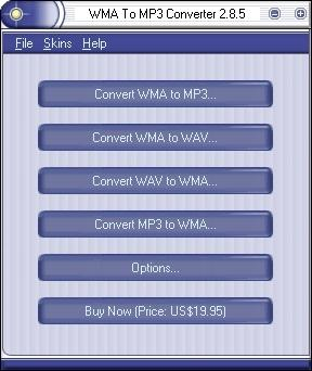 WMA To MP3 Converter