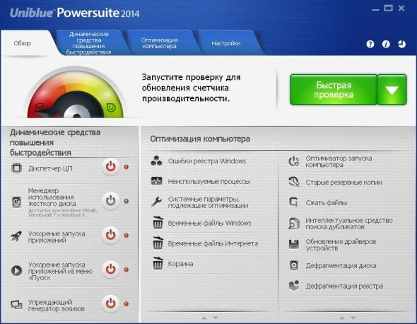 Uniblue Powersuite 2014